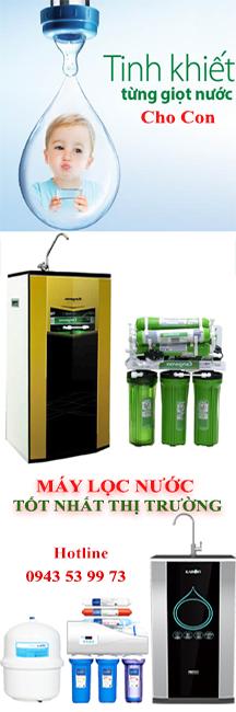 Máy lọc lước tốt nhất thị trường