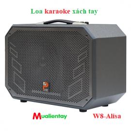 loa di động karaoke xách tay prosing W8-Alisa