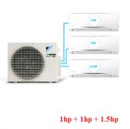 Điều Hòa Inverter Multi S Combo 3 dàn lạnh 1HP + 1HP + 1,5HP