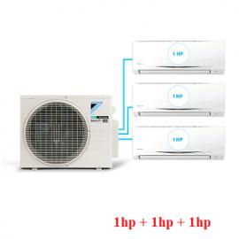 Điều Hòa Inverter Multi S Combo 3 dàn lạnh 1HP + 1HP + 1HP