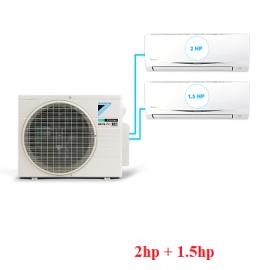 Điều Hòa Inverter Multi S Combo 2 dàn lạnh 2HP + 1.5HP