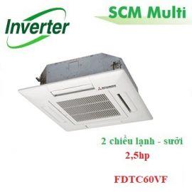 Dàn lạnh âm trần multi 2.5hp FDTC60VF