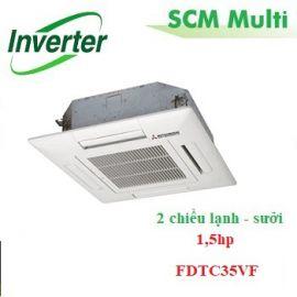 Dàn lạnh âm trần multi 1,5hp FDTC35VF