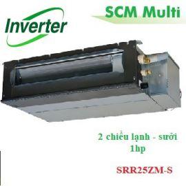 Dàn lạnh giấu trần nối ống gió Multi 1hp SRR25ZM-S