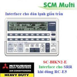 Interface SC-BIKN2-E cho dàn lạnh giấu trần khi dùng RC-E5