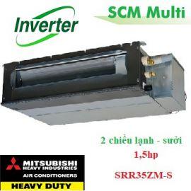Dàn lạnh giấu trần nối ống gió Multi 1,5hp SRR35ZM-S
