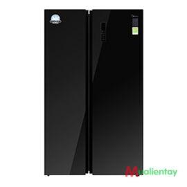 Tủ lạnh side by side midea inverter 584lit MRC-690GS
