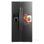 Tủ lạnh side by side Toshiba Inverter 493 lít GR-RS637WE-PMV